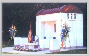 side of memorial